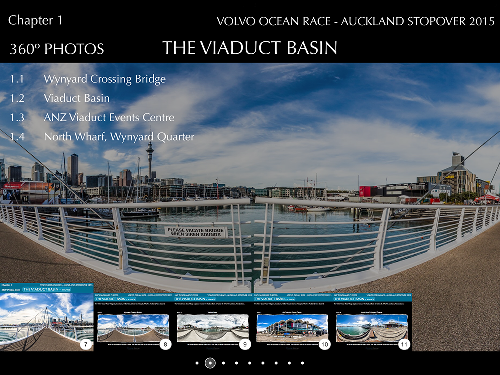 """This is the Photo Story from the Volvo Ocean Race's stopover at the """"City of Sails"""" in Auckland - New Zealand."""
