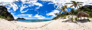 Photo Guide with Creative 360º Spherical Panoramic Photography of the South Pacific Ocean Islands by © Christian Kleiman - Photographer, Author and Editor