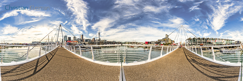 Photo Guide with Creative 360º Spherical Panoramic Photography of New Zealand by © Christian Kleiman - Photographer and Author