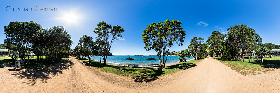 Wine Sales and Tastings at Man O' War - 360 Panoramic Photo by © Christian Kleiman, Photographer, Author. New Zealand 360 Photographic Guide