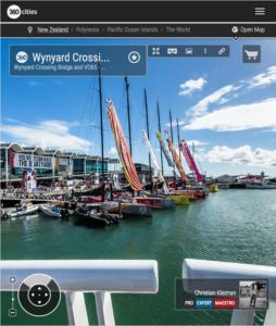 Wynyard Crossing Bridge - Foto Panorámica 360 - Impresionante Guía de Fotografía Creativa de Nueva Zelanda - © Christian Kleiman Fotógrafo