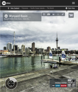 Auckland Viaduct Basin - 360 Panoramic Photo - Impresive Creative Photo Guide from New Zealand by © Christian Kleiman - Photographer, Author and Editor