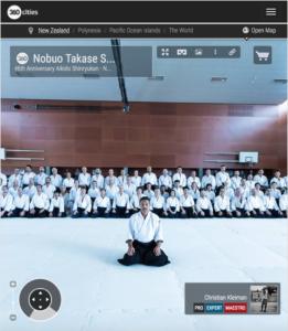 Nobuo Takase Shihan - International Gasshuku - 360 Photo - Creative Photo Guide from New Zealand by © Christian Kleiman - Photographer, Author and Editor