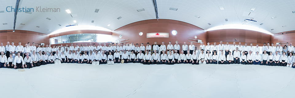 47th International Gasshuku - Aikido Shinryukan New Zealand - 360 VR Pano Photo