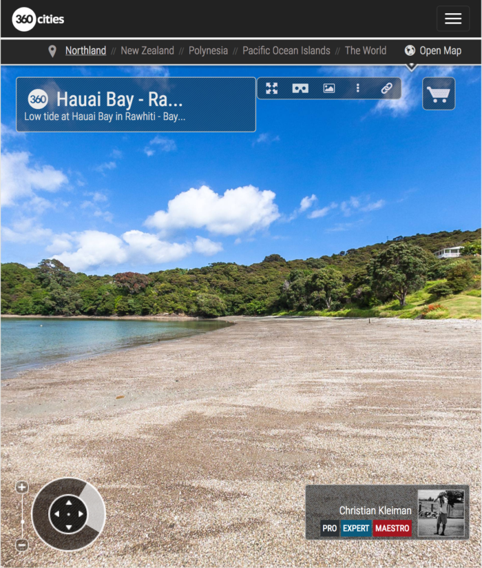 Hauai Bay - Rawhiti - Bay of Islands, New Zealand - 360 VR Pano Photo