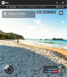 Angling at Hahei Beach - Coromandel Peninsula, New Zealand - 360 VR Pano Photo