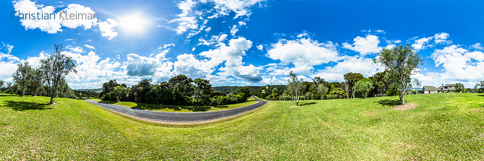 Musson Drive - Waiheke Island - Auckland, New Zealand - 360 VR Pano Photo