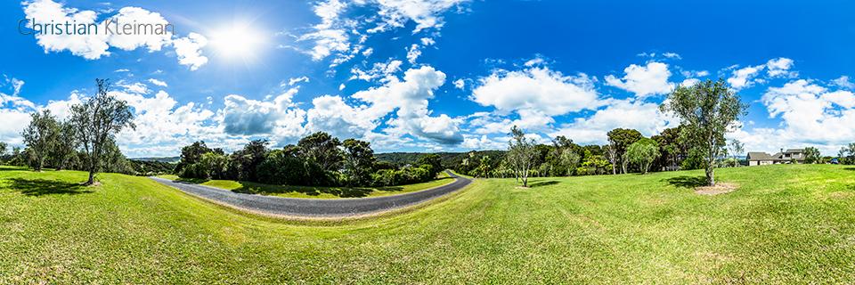 Musson Drive - Isla Waiheke - Auckland, Nueva Zelanda - Foto Pano VR 360