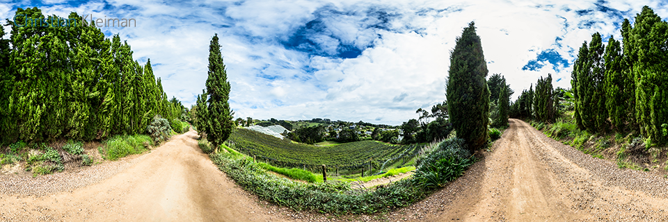 Casita Miro Vineyard Restaurant - Waiheke Island - Auckland, New Zealand - 360 VR Pano Photo