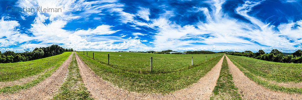 Waiheke Reeve Airport Runway - Waiheke Island - Auckland, New Zealand - 360 VR Pano Photo