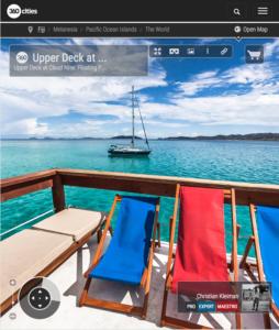 Upper Deck at Cloud 9 Cocktail Bar - Fiji Islands - 360 VR Pano Photo