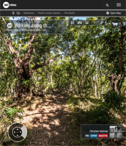 Bush Walk Track - Qalito Island - Fiji Islands - 360 VR Pano Photo