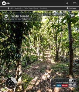 Bush Track - Qalito Island - Fiji Islands - 360 VR Pano Photo