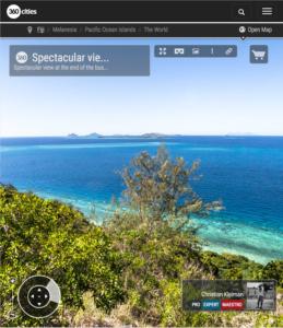 Islas Yasawa desde la cumbre de Isla Qalito - Islas Fiji - Foto Pano 360 VR