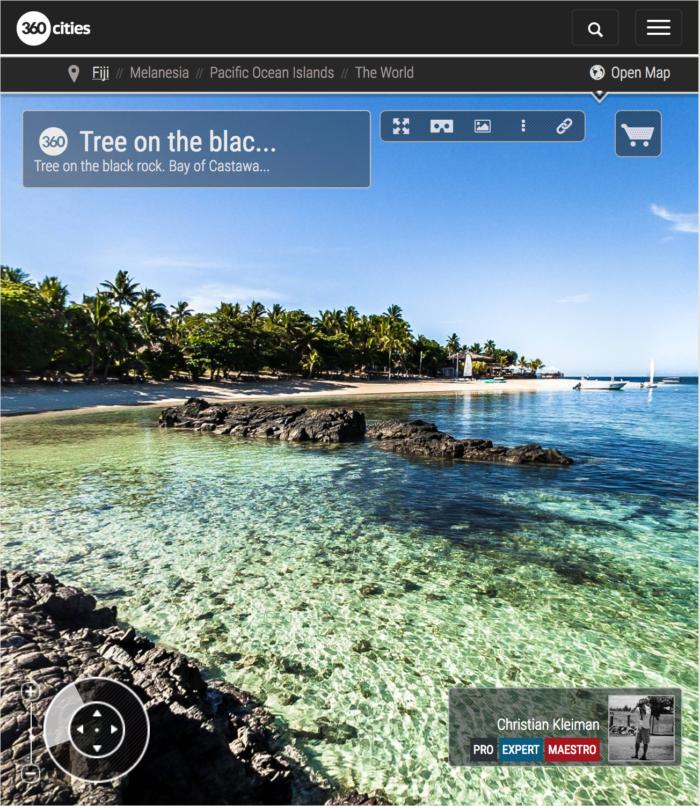 Bay of Castaway Island Resort - Fiji Islands - 360 VR Pano Photo