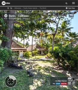 Cabaña tradicional - Castaway Island Resort - Islas Fiji - Foto Pano 360 VR