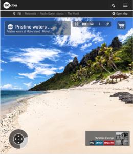 Pristine Waters - Monu Island - Fiji Islands - 360 VR Pano Photo