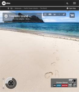 Isla del Tesoro - Monu Island - Islas Fiji - Foto Pano 360 VR