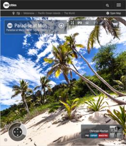 South Pacific Monu Island - Fiji Islands - 360 VR Pano Photo