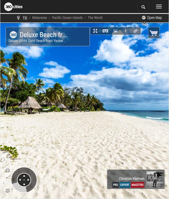 Playa Deslumbrante - Yasawa Island Resort - Fiji - Foto Pano 360 VR