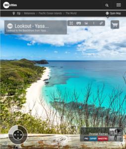 Mirador de Yasawa Island Resort - Islas Fiji - Foto Panorámica 360 VR