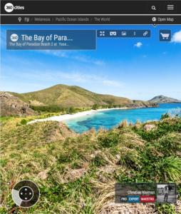 Bay of Paradise Beach at Yasawa Island Resort - Fiji Islands - 360 VR Pano Photo