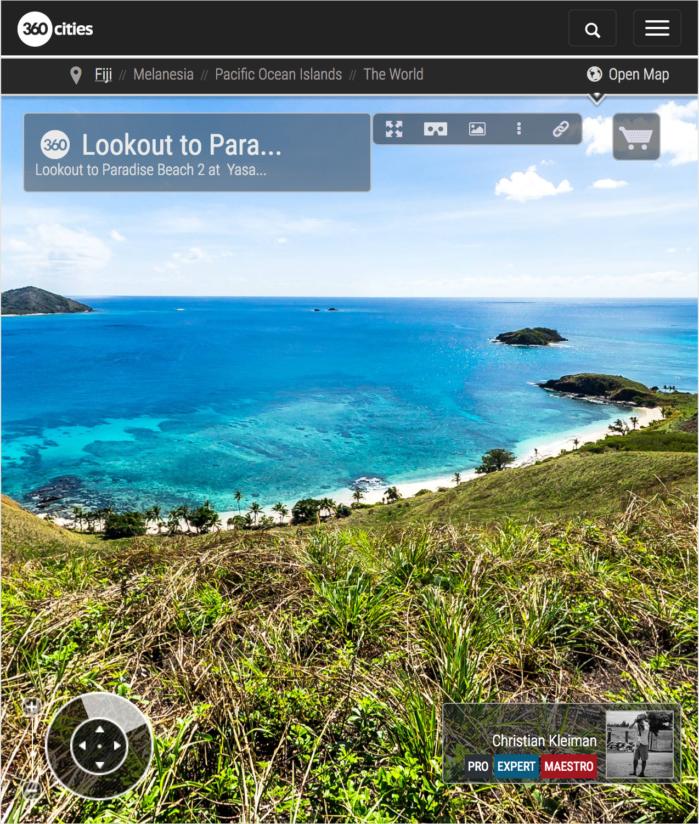 Paradise Beach 2 de Yasawa Island Resort - Fiji - Foto Pano 360 VR