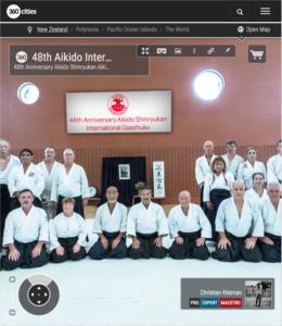 48 Gasshuku Internacional de Aikido en Nueva Zelanda - Foto Pano VR 360