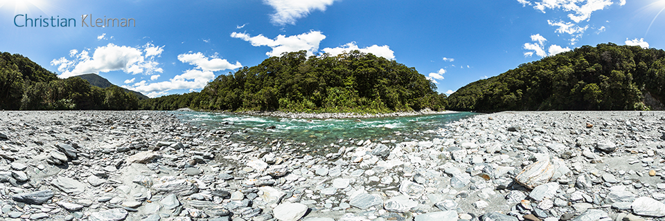 360 Photo of Makarora River - Mount Aspiring National Park, New Zealand