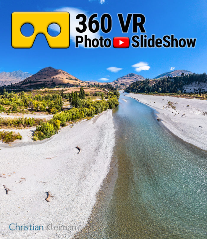 360 VR Video Experience from Quenstown Lakes District, New Zealand