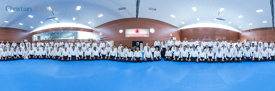 49th International Gasshuku - Aikido Shinryukan NZ - 360 VR Pano Photo