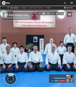 49 Gasshuku Internacional de Aikido en NZ - Foto Pano VR 360